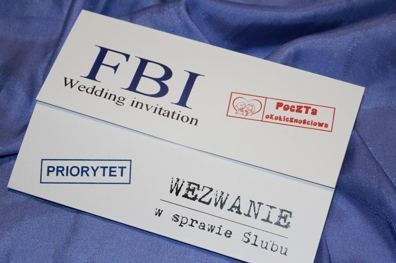Zawiadomienia ślubne Wezwania Na ślub Usc Cbś Fbi Z Humorem