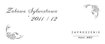 Zaproszenia Sylwestrowe Zaproszenie na Sylwestra nr 10
